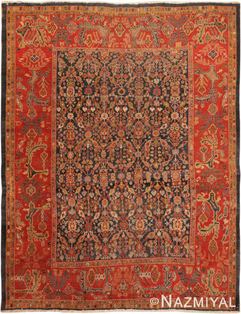 Antique Persian Sultanabad Rug 70320 by Nazmiyal NYC