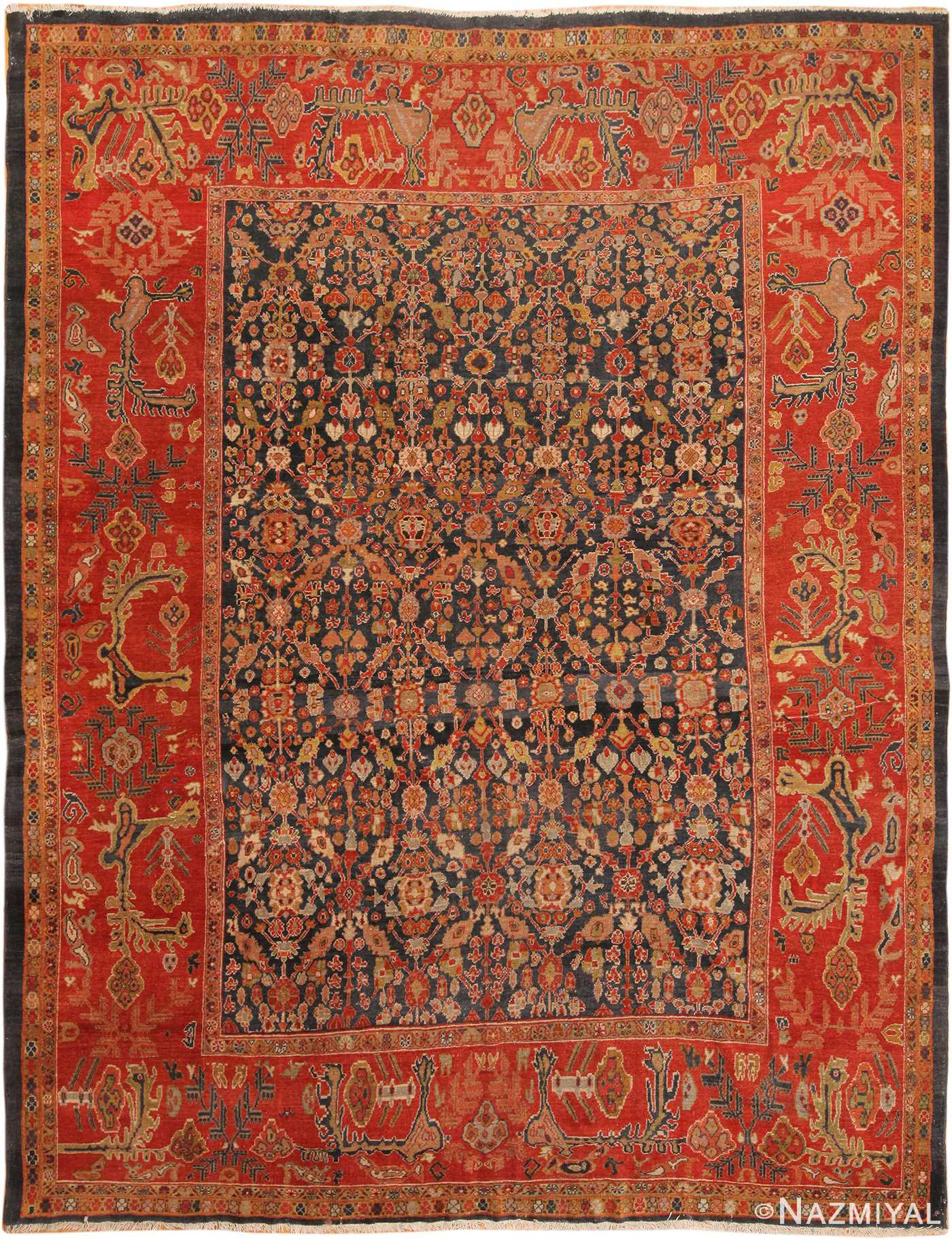 Antique Persian Sultanabad Rug 70320 By
