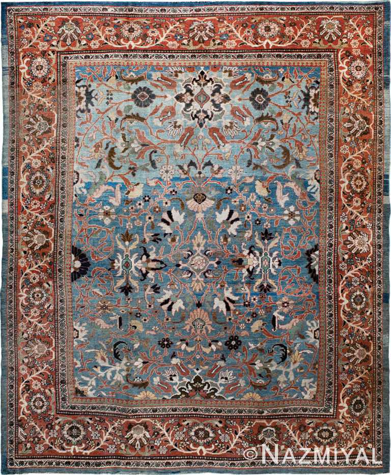 Antique Ziegler Sultanabad Rug Nazmiyal