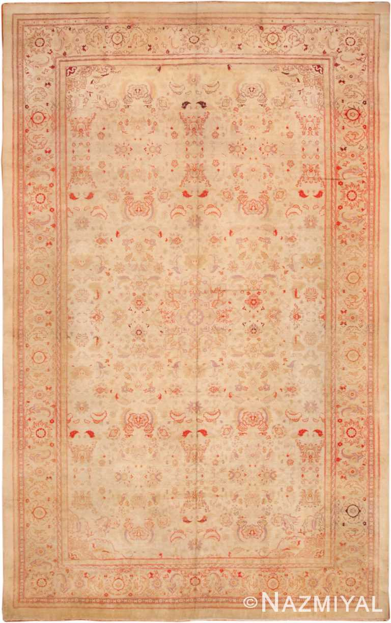 Large Antique Amristar Indian Rug 70304 by Nazmiyal NYC