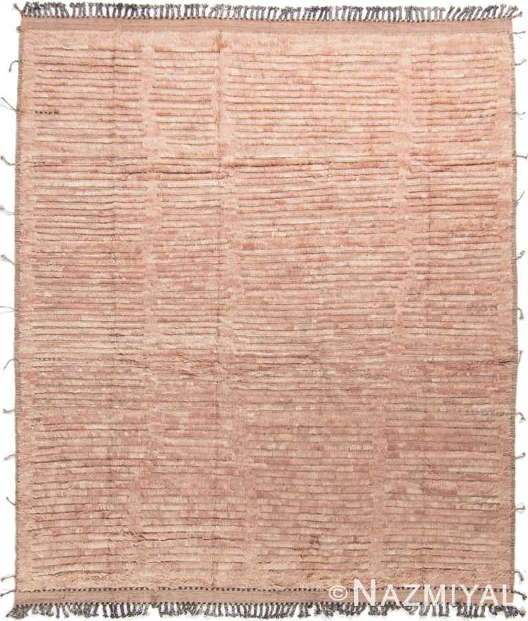 Modern Boho Chic Rug 142799112 by Nazmiyal NYC
