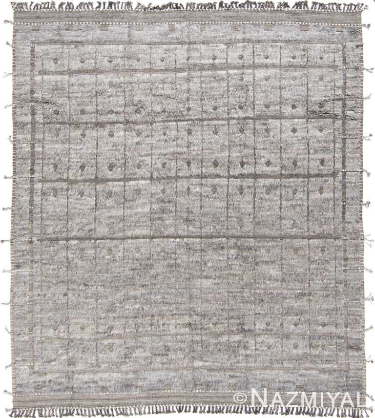 Modern Boho Chic Rug 142801360 by Nazmiyal NYC