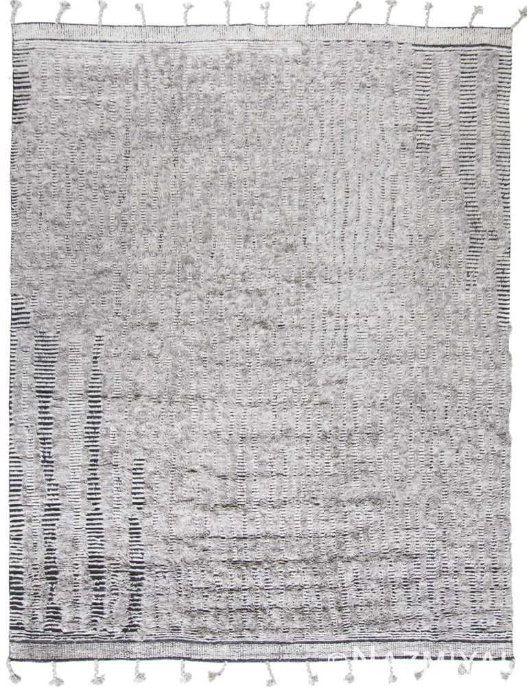 Modern Boho Chic Rug 142806441 by Nazmiyal NYC