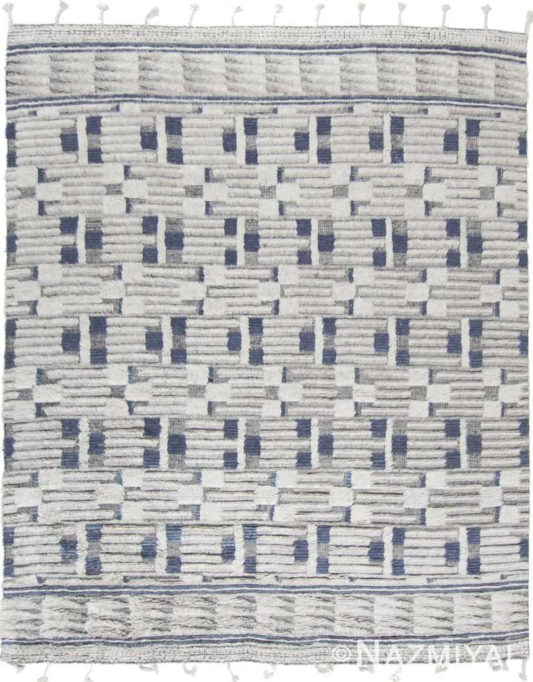 Modern Boho Chic Rug 142806642 by Nazmiyal NYC