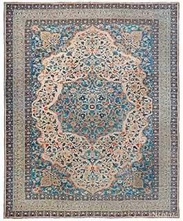 Antique Persian Tabriz Rugs - By Nazmiyal Rugs antik