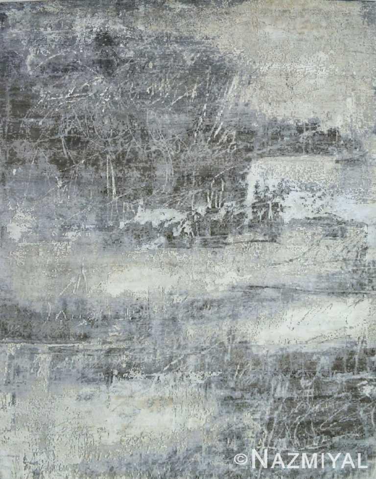 Abstract Contemporary Rug 26605883 by Nazmiyal NYC