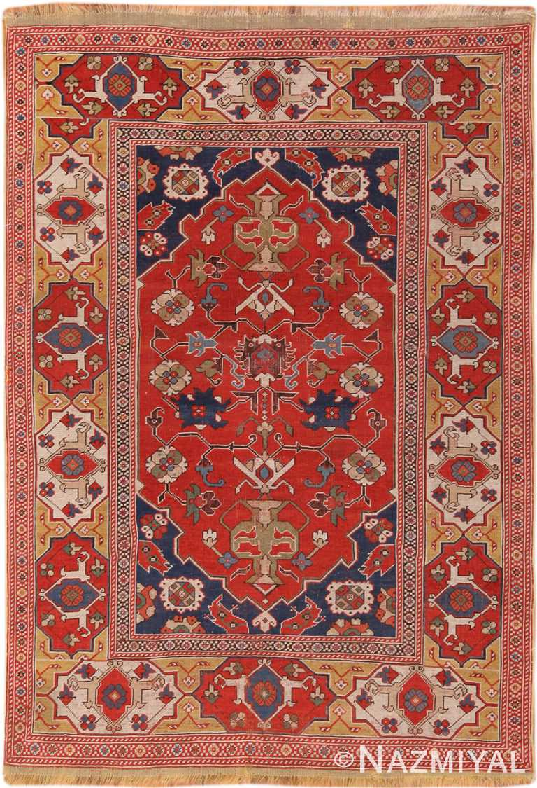 Antique 17th Century Transylvanian Rug 70351 by Nazmiyal NYC