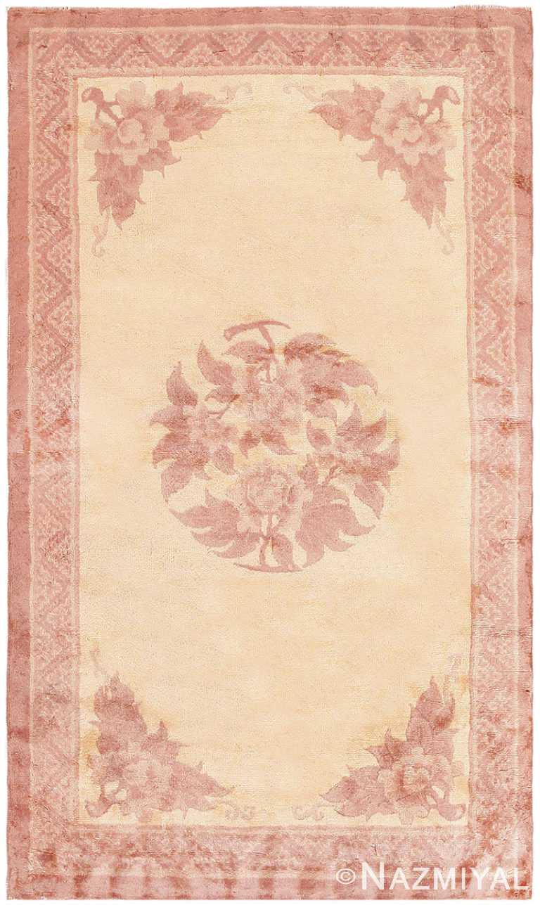 Antique Chinese Carpet 47198 by Nazmiyal NYC