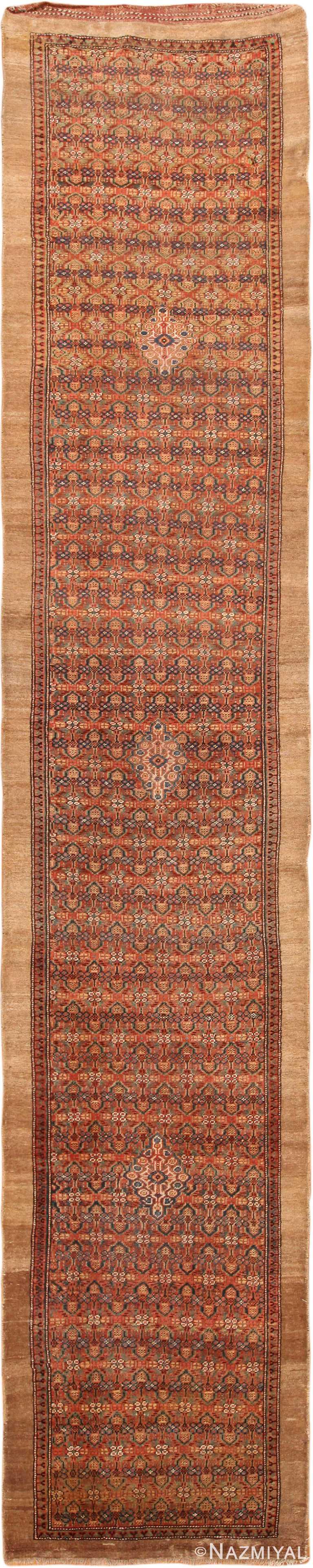 Large Antique Persian Serab Runner 70324 by Nazmiyal NYC