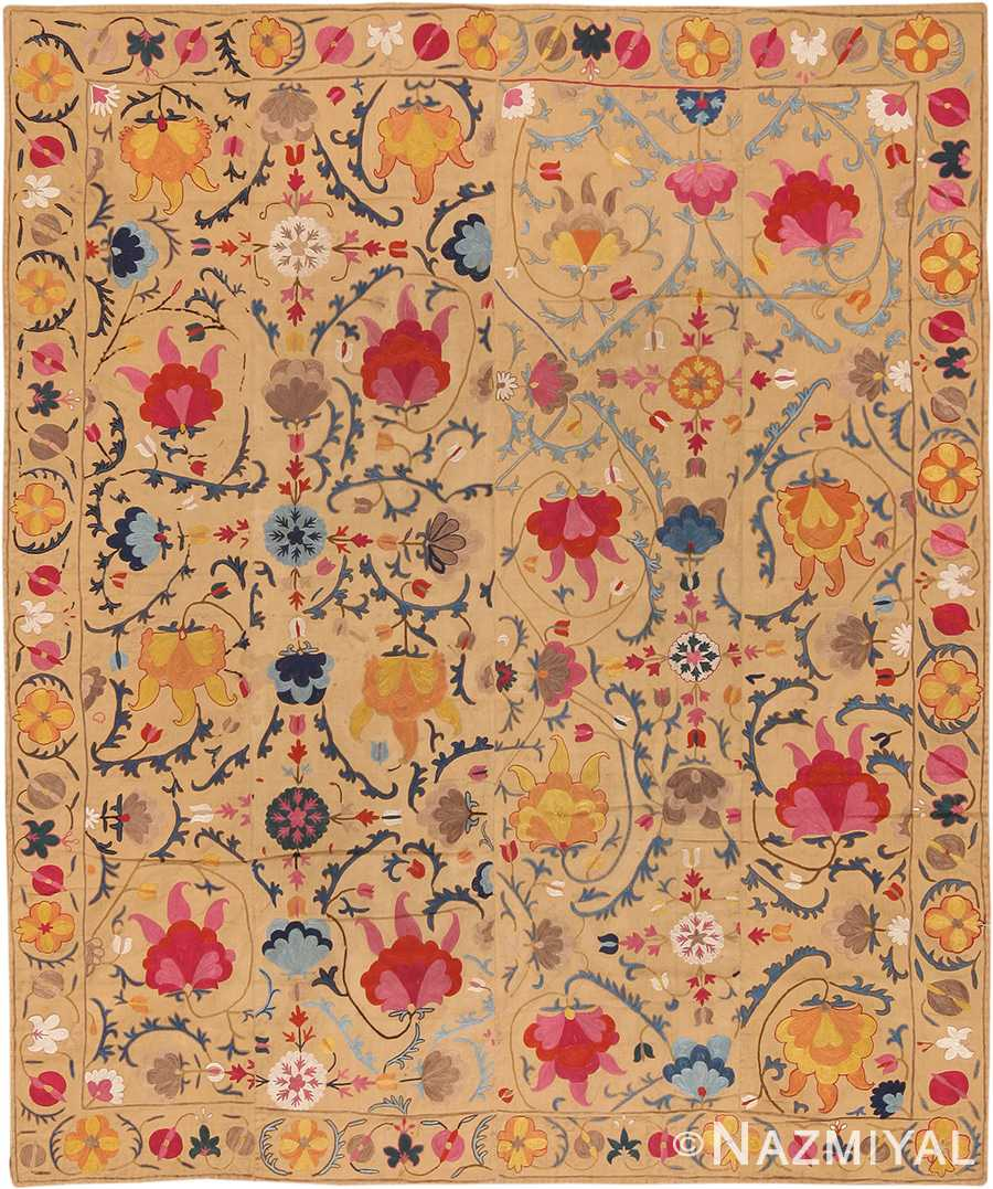 Uzbek Suzani Embroidery Textile 70344
