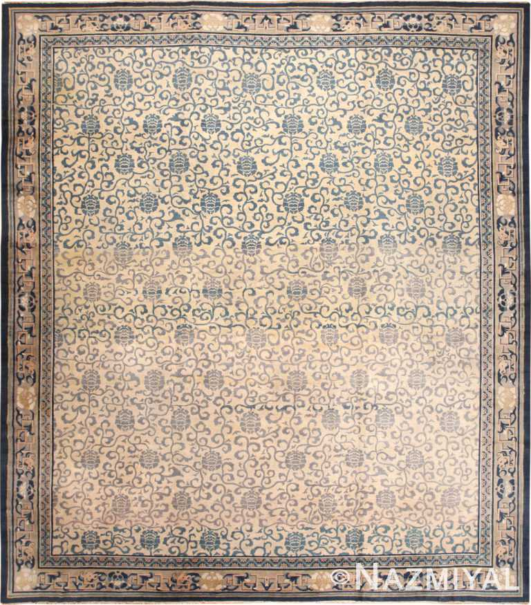 Large Antique Chinese Rug 70293 by Nazmiyal NYC