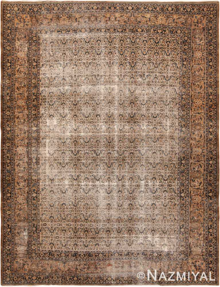 Large Antique Persian Khorassan Rug 44161 by Nazmiyal NYC