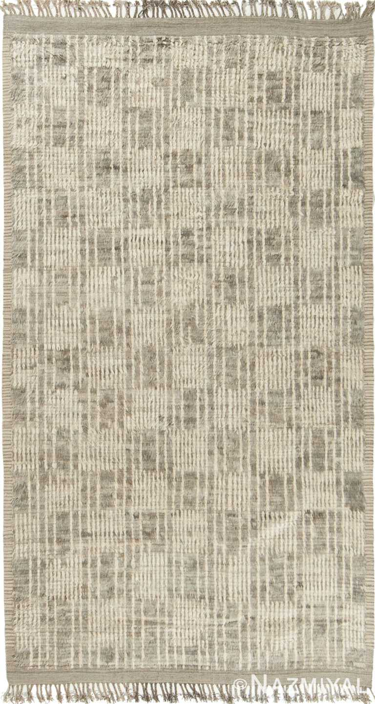 Modern Boho Chic Rug 142705194 by Nazmiyal NYC