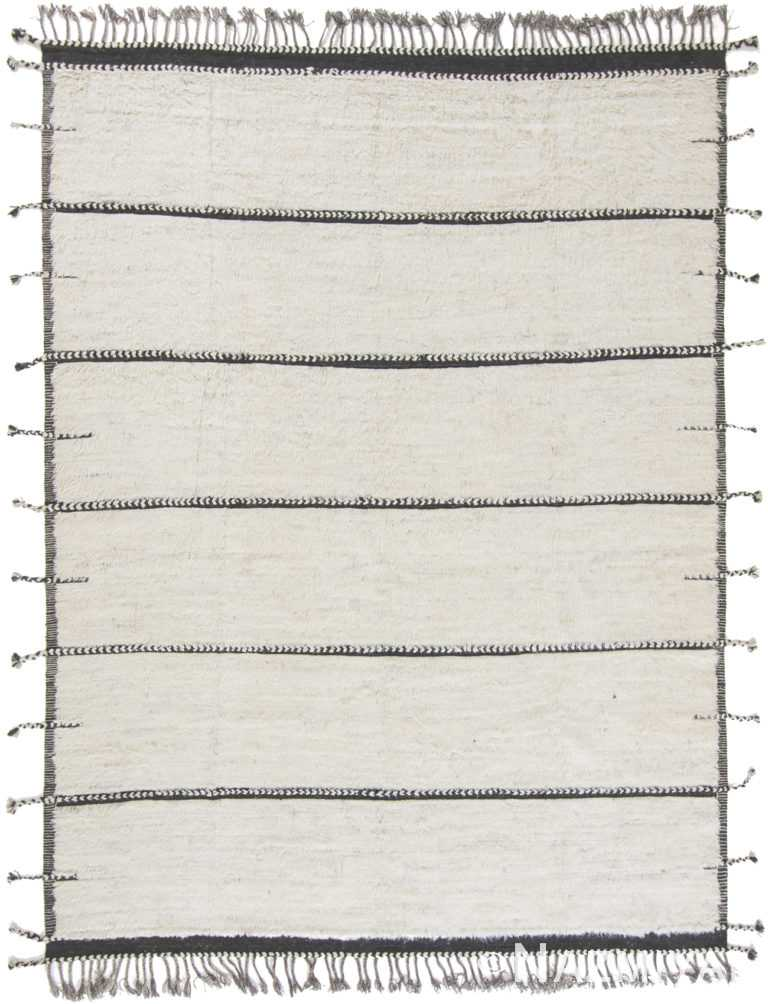 Modern Boho Chic Rug 142742530 by Nazmiyal NYC