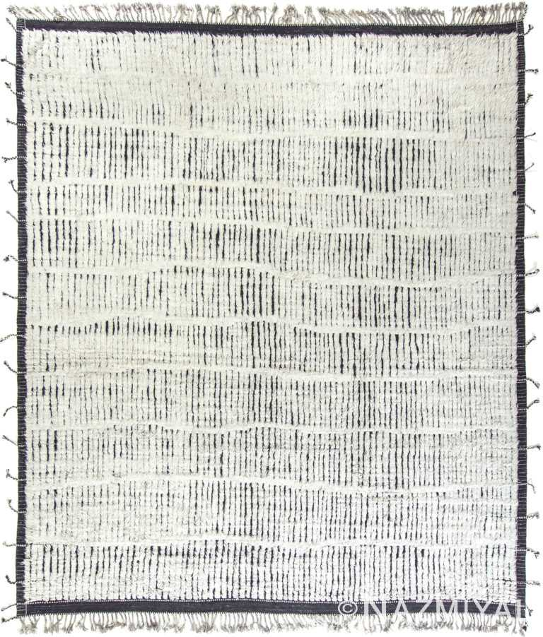 Modern Boho Chic Rug 142742897 by Nazmiyal NYC