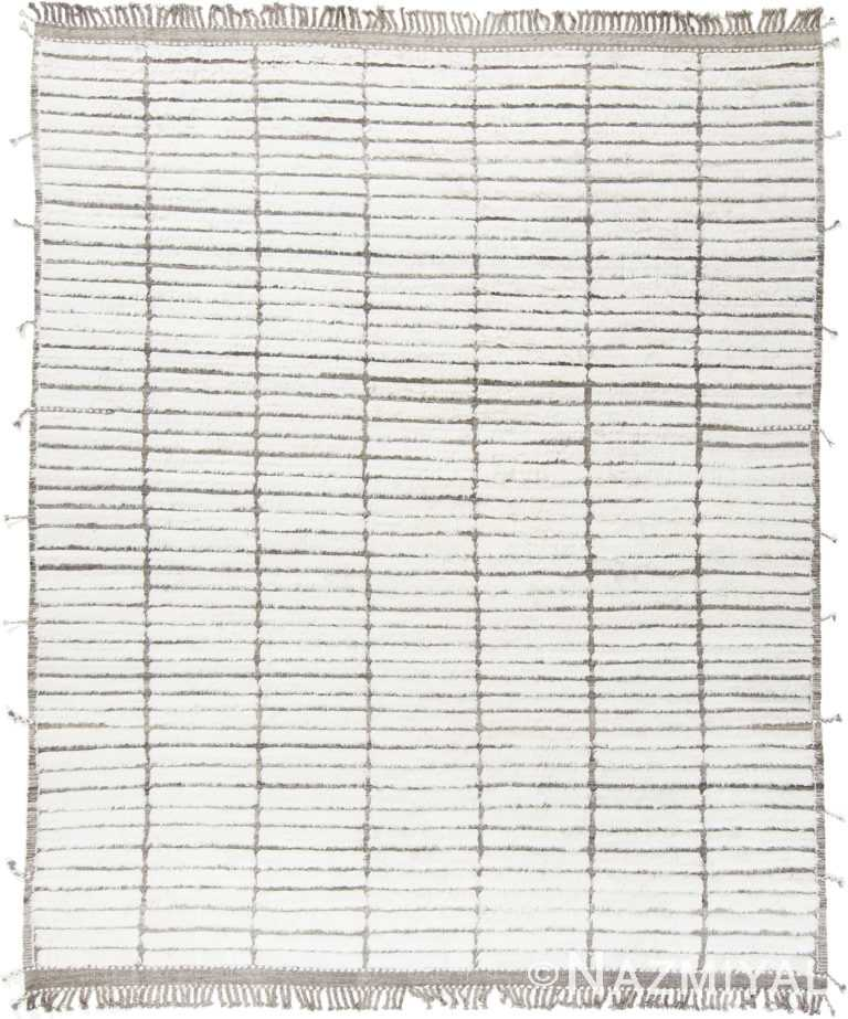 Modern Boho Chic Rug 142778037 by Nazmiyal NYC