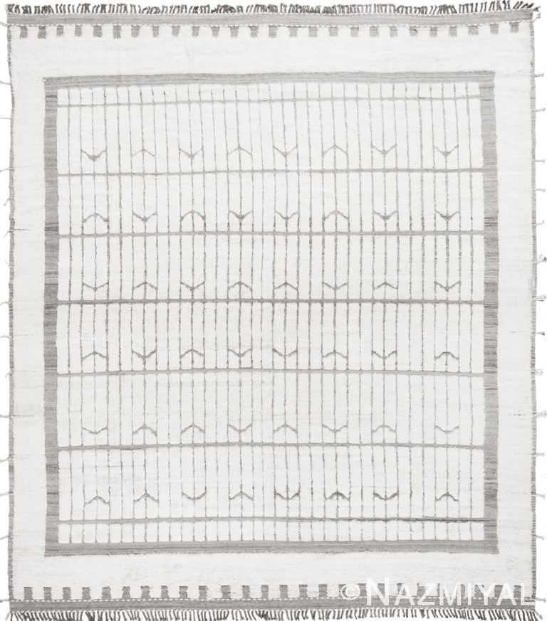 Modern Boho Chic Rug 142793007 by Nazmiyal NYC