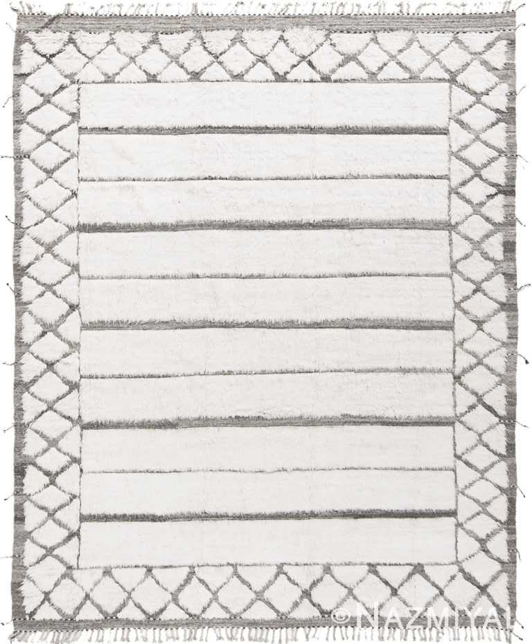 Modern Boho Chic Rug 142793903 by Nazmiyal NYC