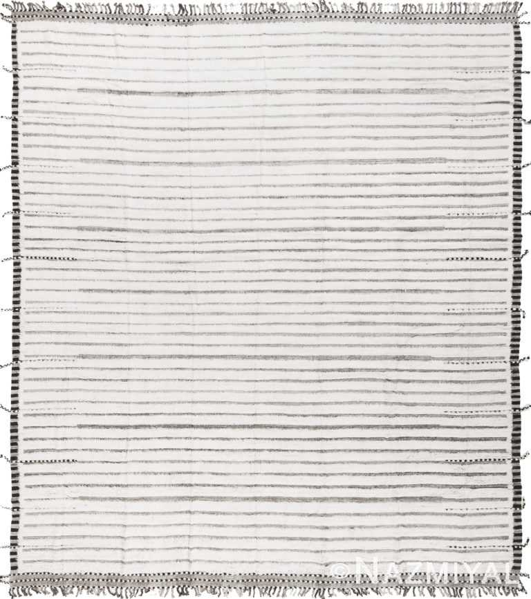 Modern Boho Chic Rug 142794348 by Nazmiyal NYC