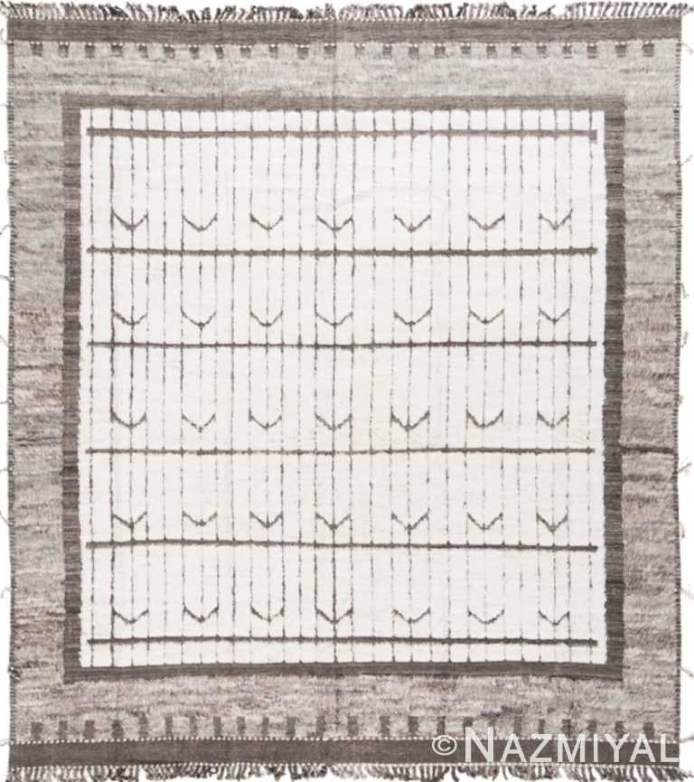 Modern Boho Chic Rug 142794674 by Nazmiyal NYC