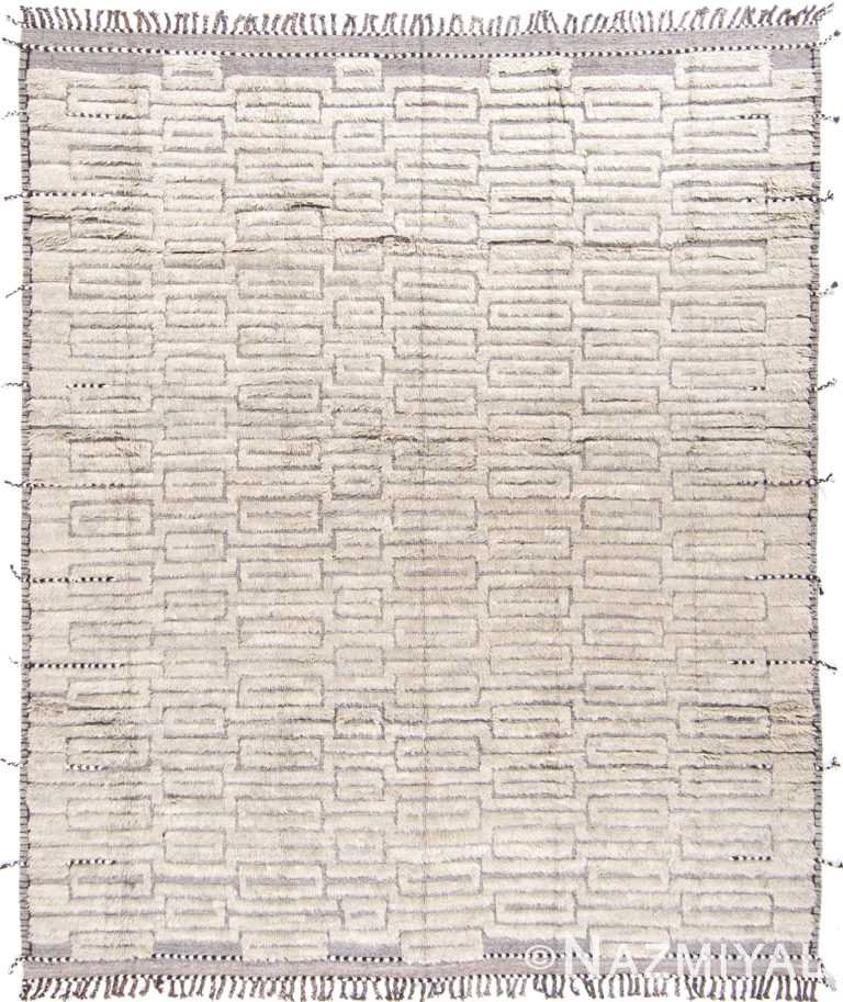 Modern Boho Chic Rug 142795930 by Nazmiyal NYC
