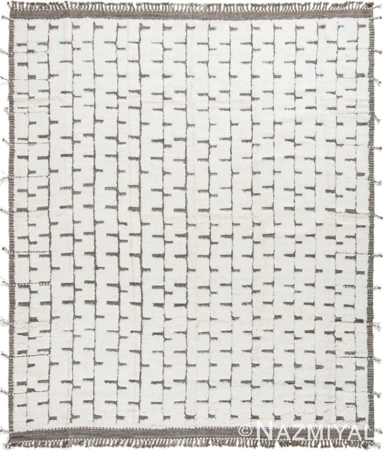 Modern Boho Chic Rug 142799280 by Nazmiyal NYC