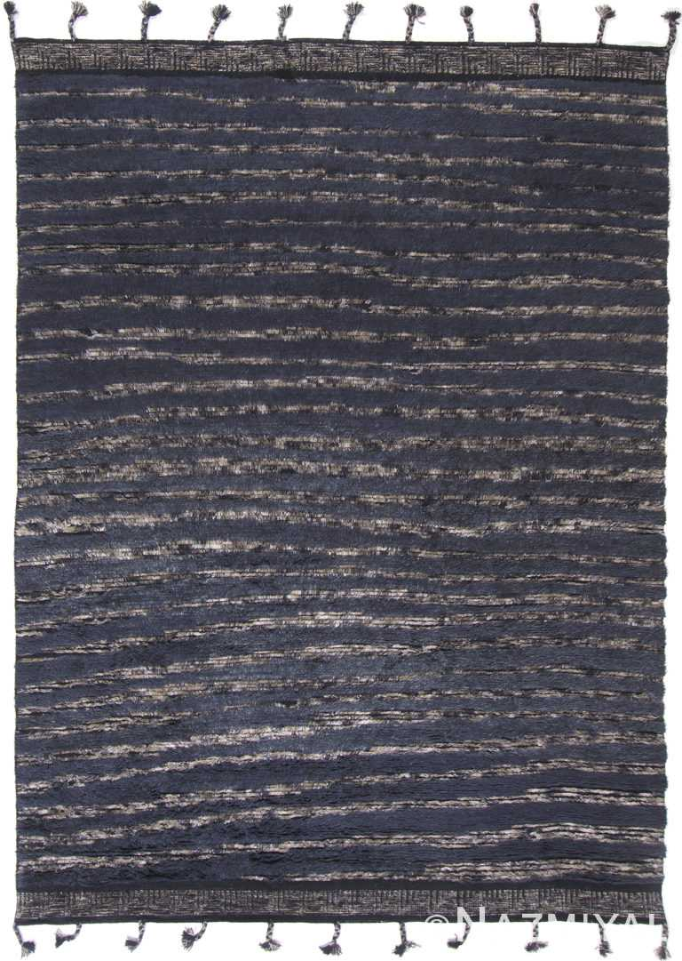 Modern Boho Chic Rug 142808259 by Nazmiyal NYC
