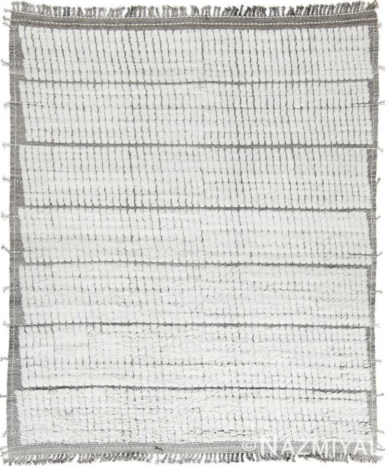 Modern Boho Chic Rug 142812706 by Nazmiyal NYC