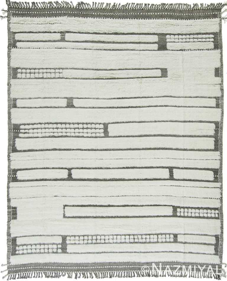 Modern Boho Chic Rug 142819346 by Nazmiyal NYC