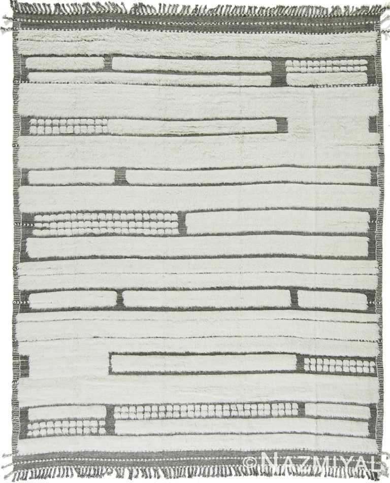 Modern Boho Chic Rug 142819346 by Nazmiyal NYC