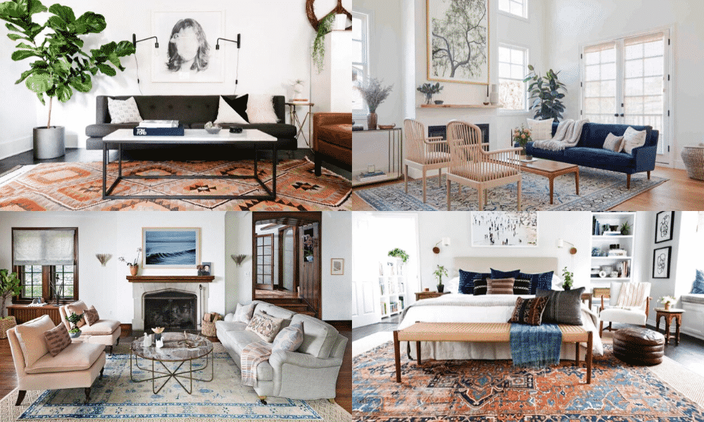 How To Match Rugs To Art Matching Art With Rugs Nazmiyal