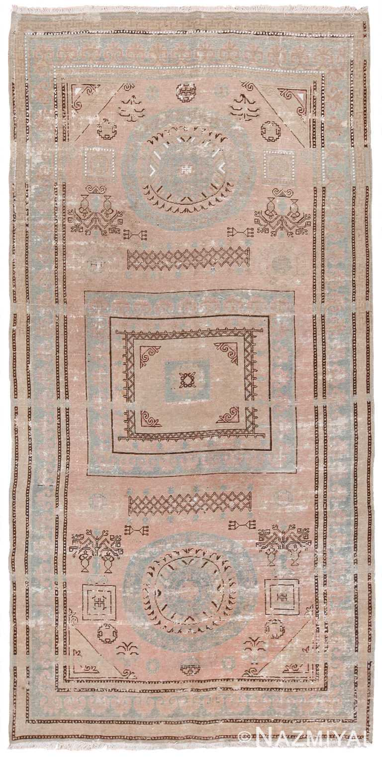 Antique Khotan Rug 43190 by Nazmiyal NYC