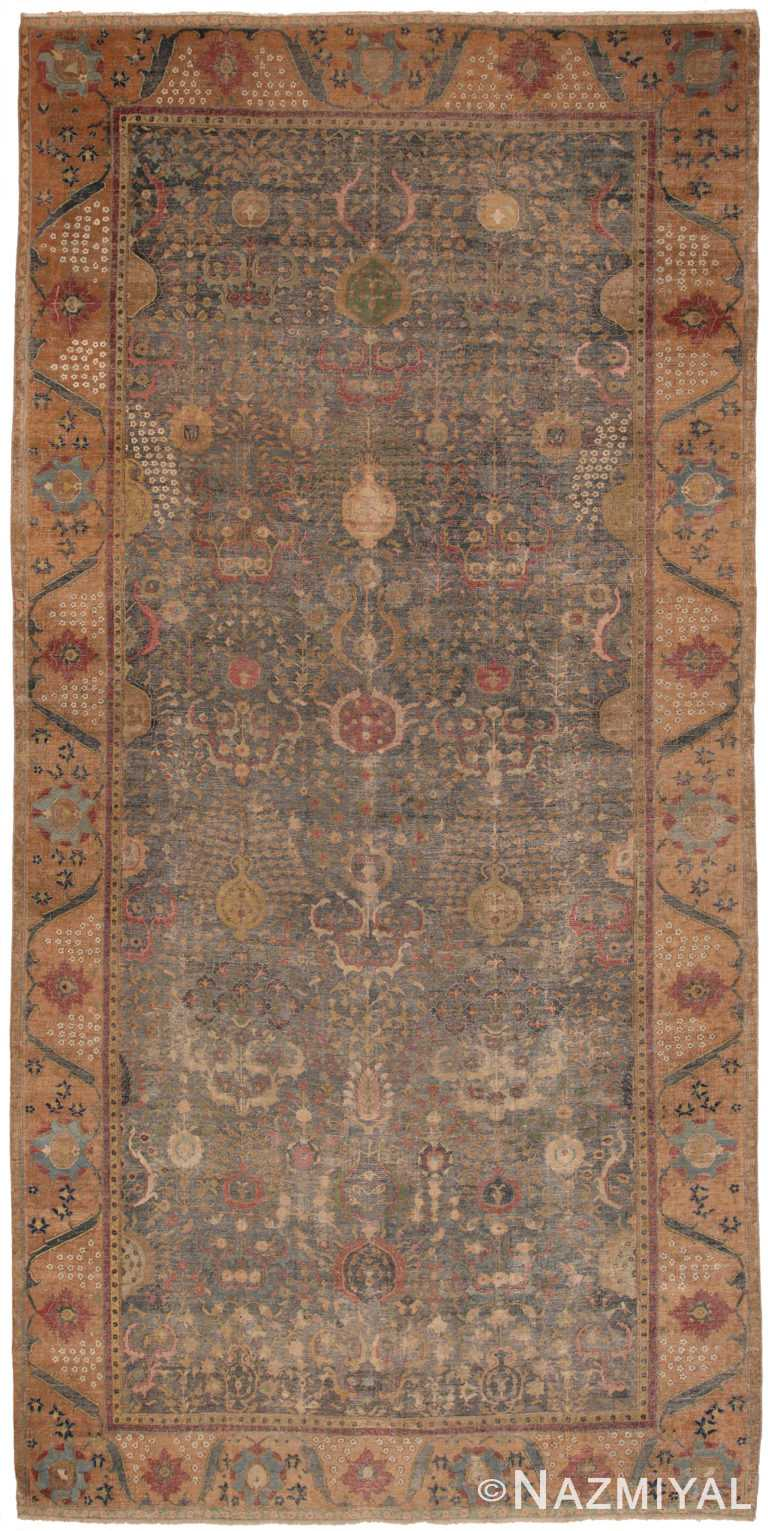 17th Century Persian Isfahan Rug 49141 by Nazmiyal NYC