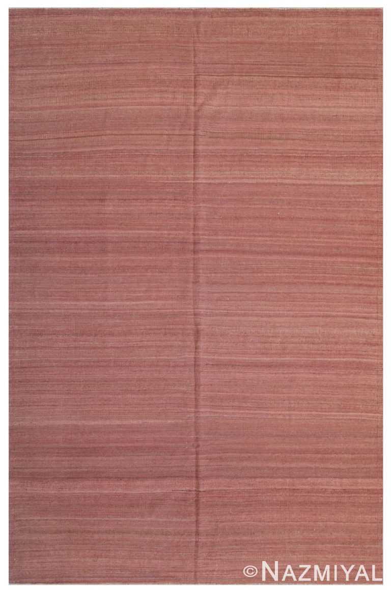 Modern Flat Weave Rug 801132596 by Nazmiyal NYC