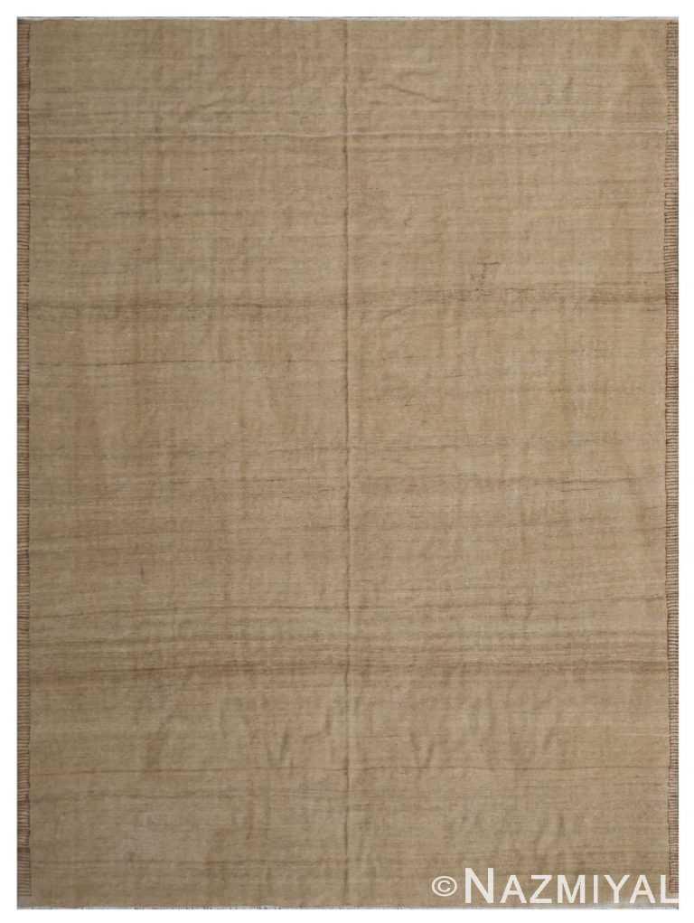 Modern Flat Weave Rug 801485419 by Nazmiyal NYC