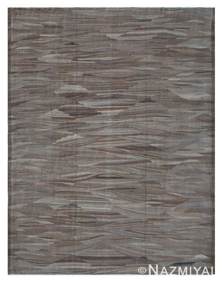 Modern Flat Weave Rug 801501516 by Nazmiyal NYC