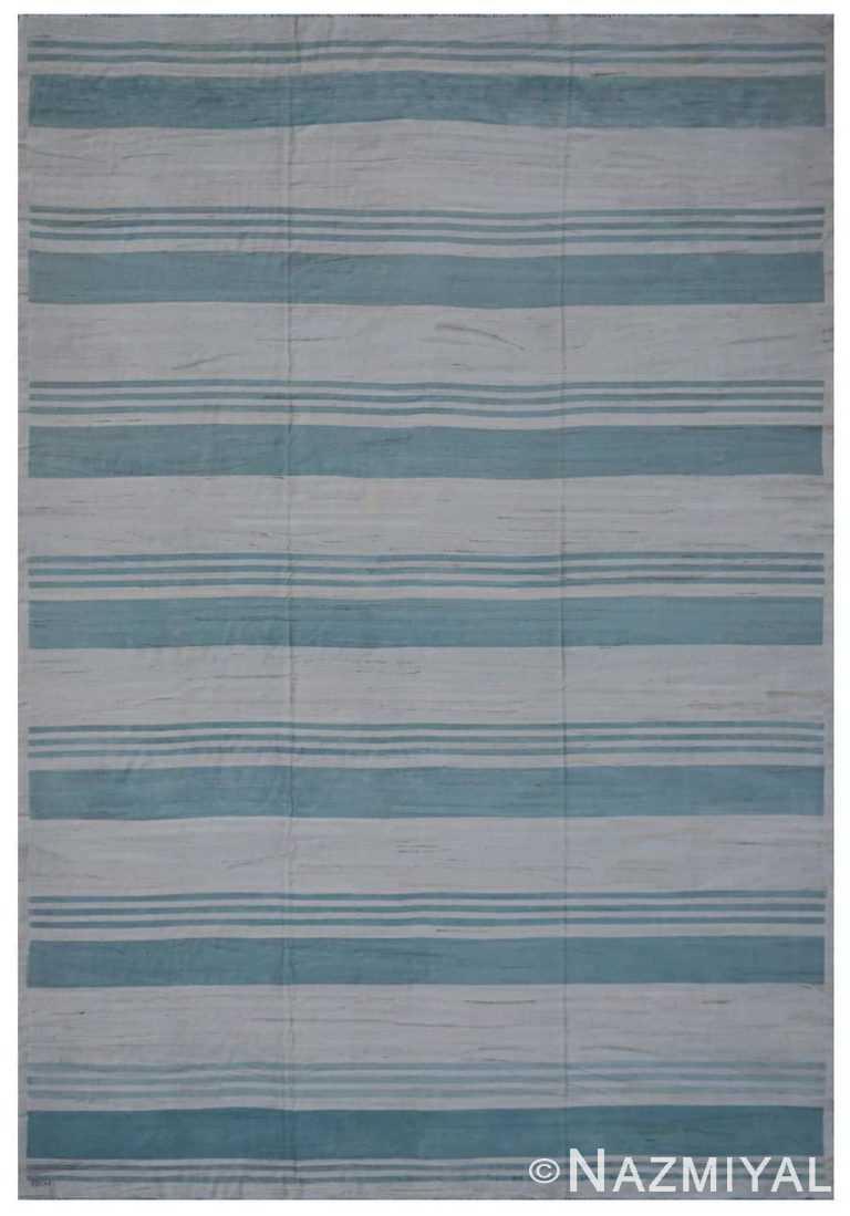 Modern Flat Weave Rug 801841603 by Nazmiyal NYC