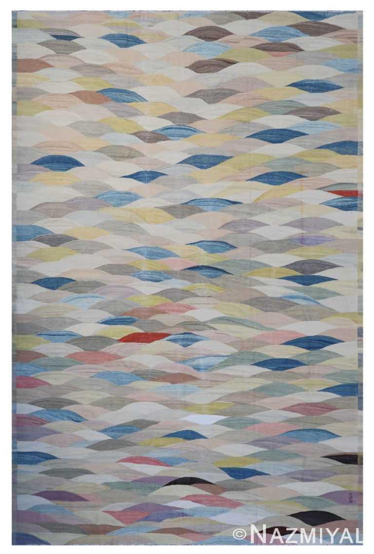 Modern Flat Weave Rug 802090412 by Nazmiyal NYC