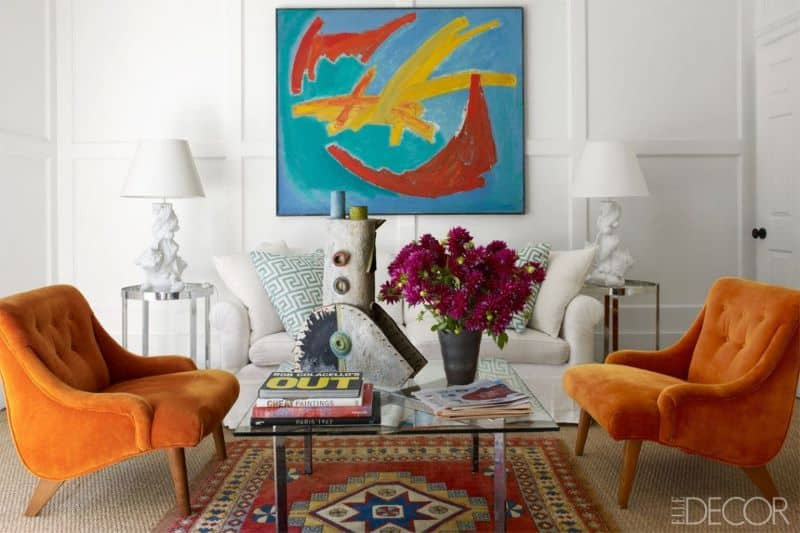 Eclectic Interior Design With Beautiful