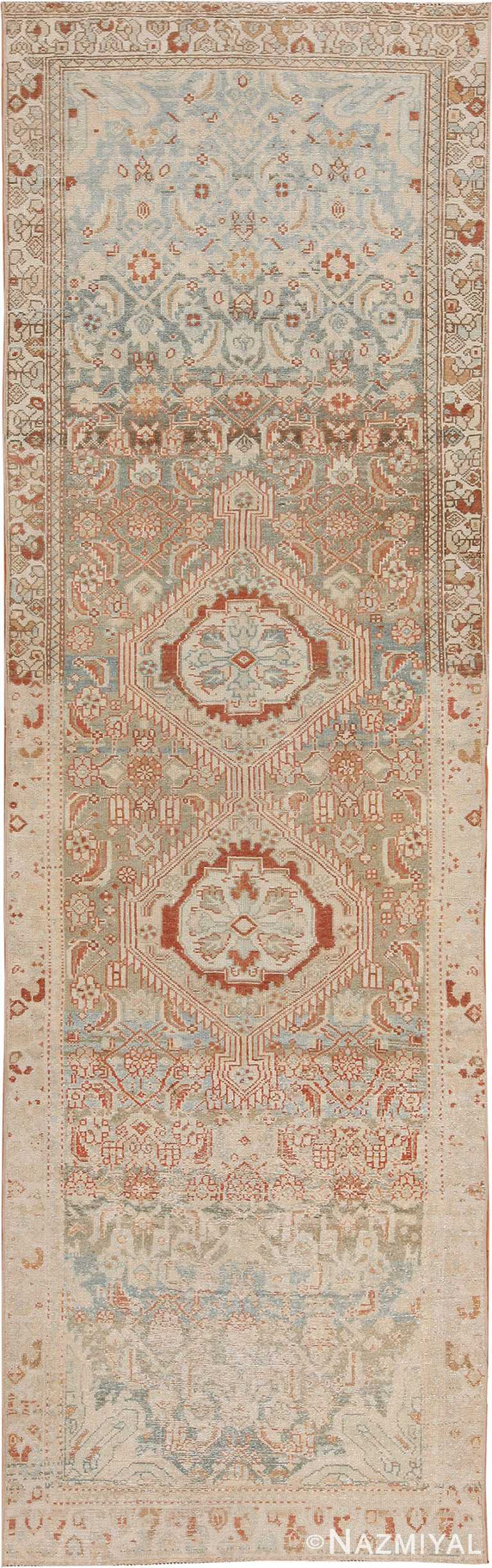 Decorative Antique Persian Malayer Rug 70438 by Nazmiyal NYC