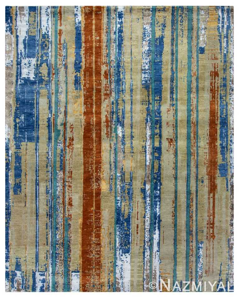 Modern Material Rug 32116741 by Nazmiyal NYC