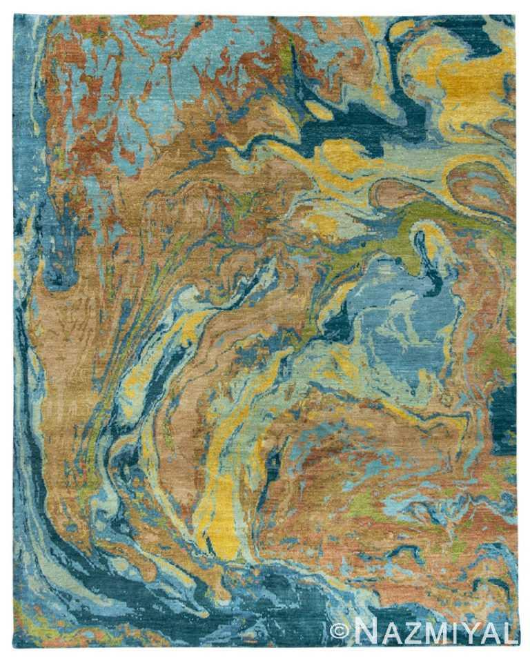 Modern Material Rug 32578425 by Nazmiyal NYC