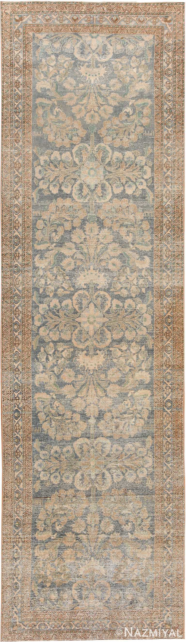 Shabby Chic Antique Persian Malayer Runner Rug 70436 by Nazmiyal NYC