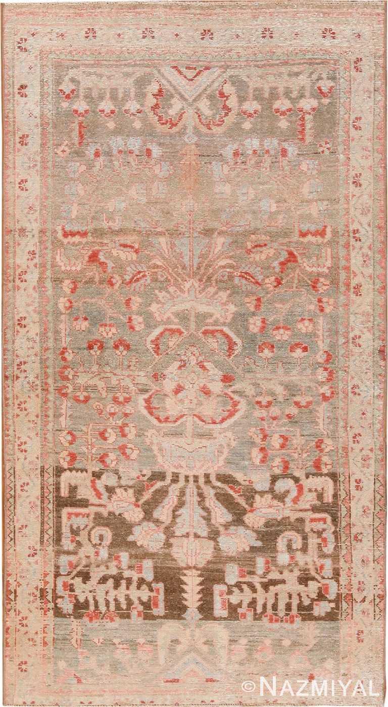 Tribal Antique Persian Malayer Rug 70440 by Nazmiyal NYC
