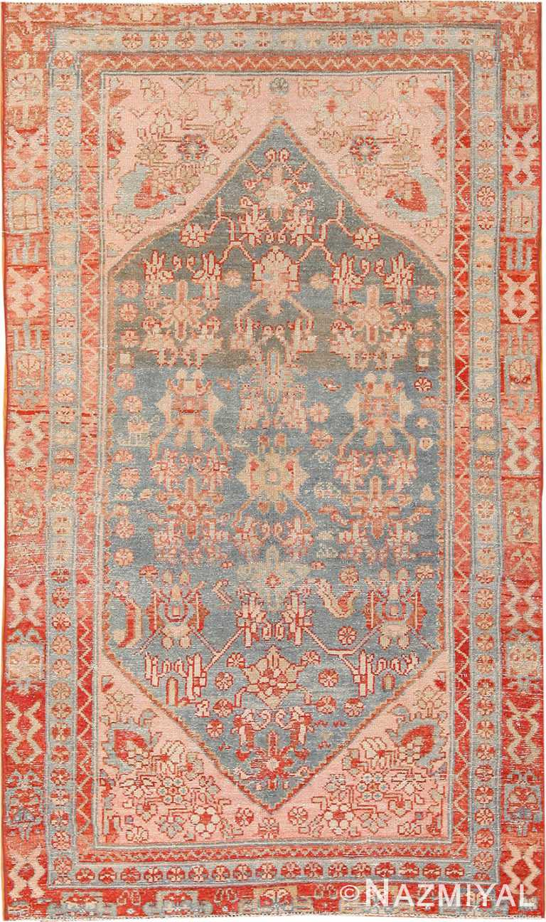 Tribal Antique Persian Malayer Rug 70441 by Nazmiyal NYC