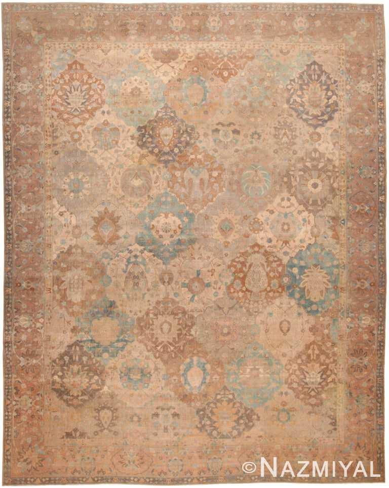 Large Antique Indian Rug 45206 by Nazmiyal NYC