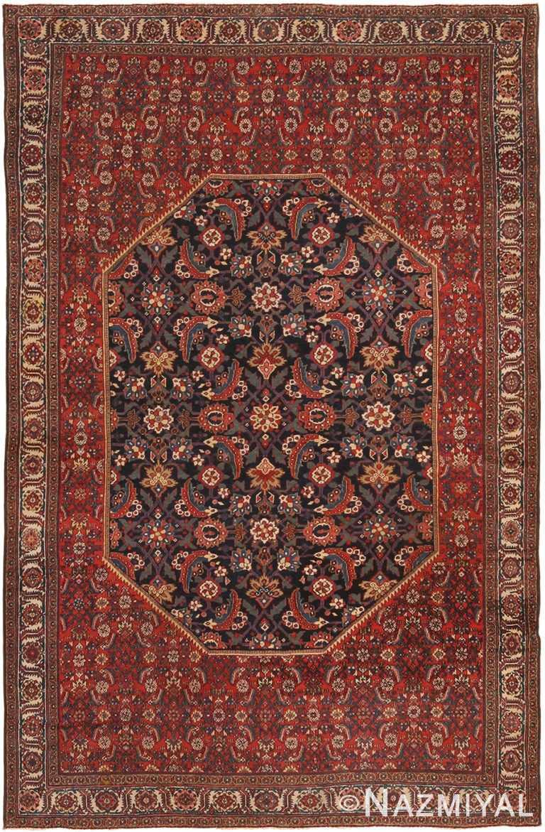 Antique Persian Mishan Malayer Rug 70338 by Nazmiyal NYC