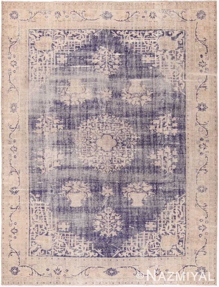 Antique Shabby Chic Chinese Rug 70404 by Nazmiyal NYC