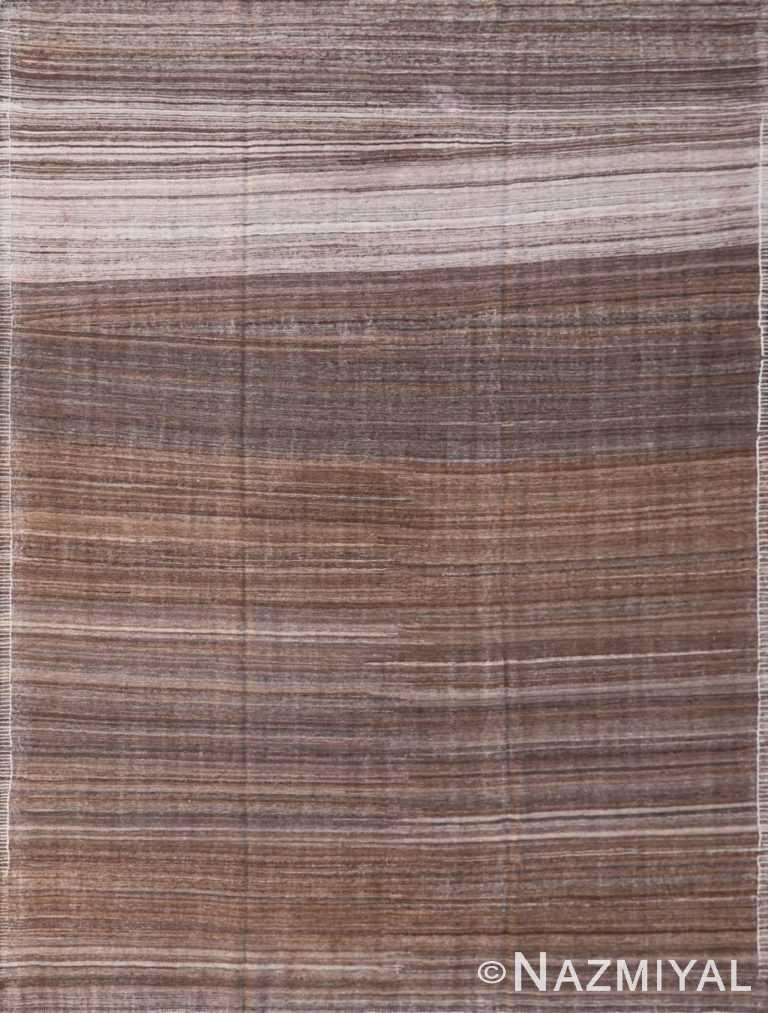 Modern Flat Weave Rug 801640400 by Nazmiyal NYC