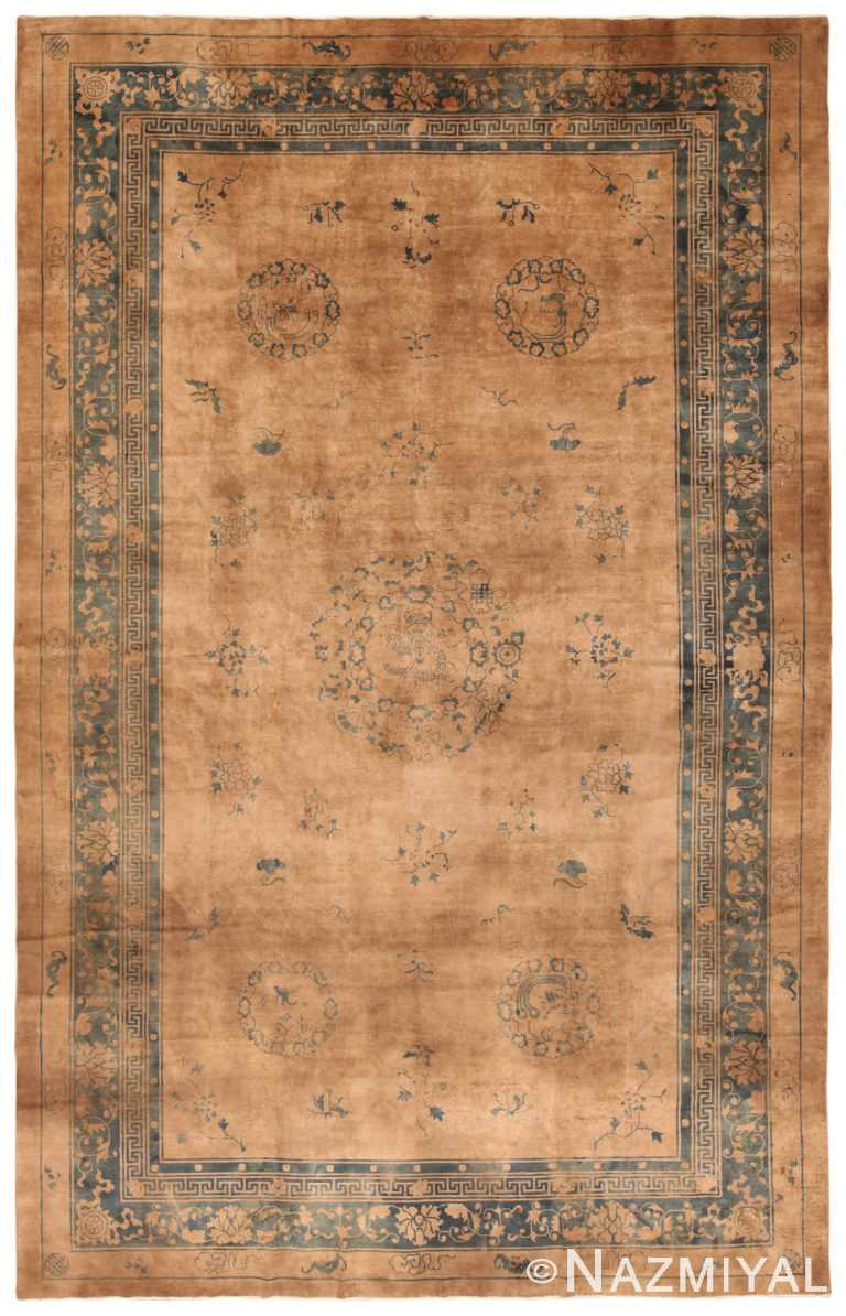 Antique Chinese Rug 70192 by Nazmiyal NYC